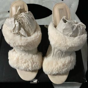 Fluffy Forever 21 shoes